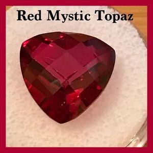 Natural Azotic Red Mystic Topaz